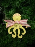 Octopus (Pink)<br>Christmas Ornament