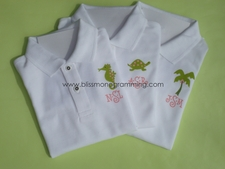 Painted Polo Shirt/Onesie