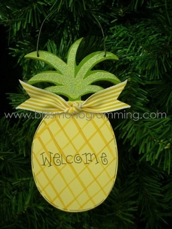 Pineapple<br>Christmas Ornament