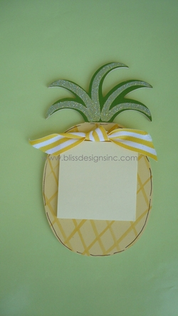 Pineapple<br>Sticky-Note Holder