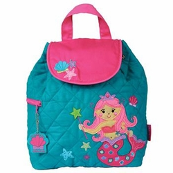Quilted Backpack Mermaid