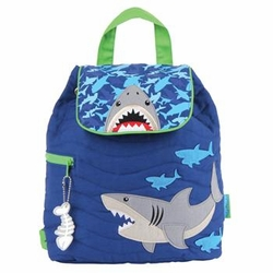 Quilted Shark Backpack