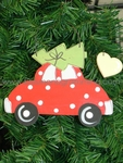 Red Bug Car<br>Christmas Ornament