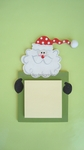 Santa<br>Sticky-Note Holder