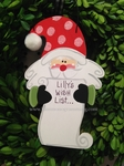Santa with Wish List<br>Christmas Ornament<br>SOLD OUT!