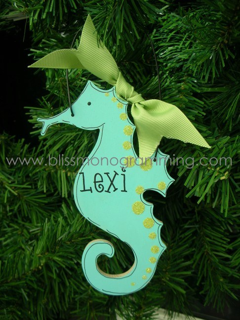 seahorse christmas ornament sold out - Seahorse Christmas Ornament