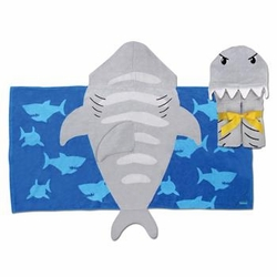 Stephen Joseph Hooded Towel<br>Shark<Sold Out!>