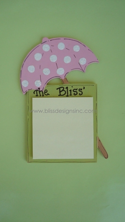 Umbrella<br>Sticky-Note Holder