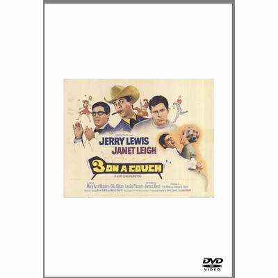 3 On A Couch 1966 on DVD
