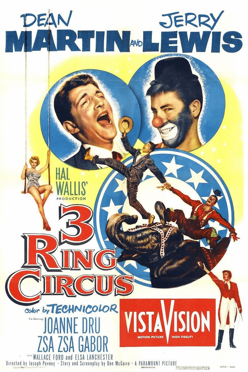 3 Ring Circus 1954 on DVD