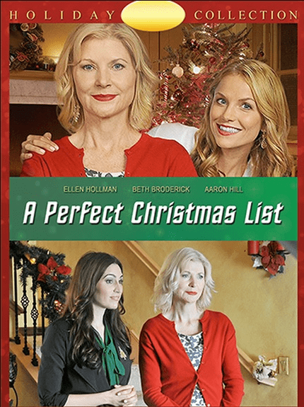 A Perfect Christmas List 2014 on DVD