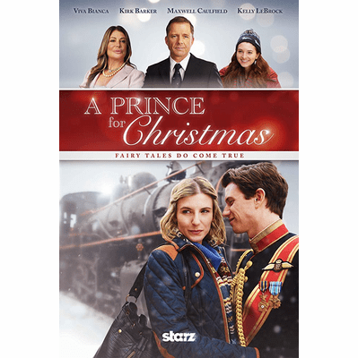 A Prince For Christmas 2015 on DVD