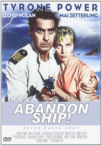 Abandon Ship 1957 on DVD