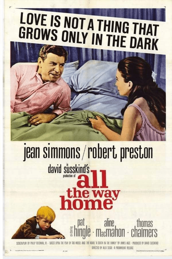 All The Way Home 1963 on DVD