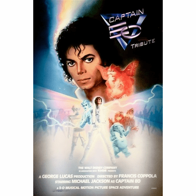 Captain EO DVD 1986 on DVD