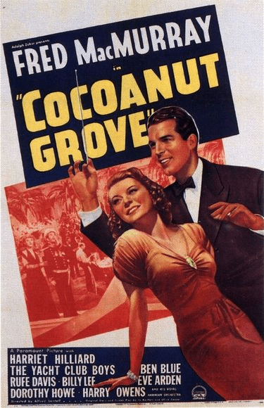 Coconut Grove 1938 on DVD