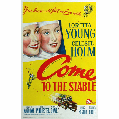 Come to the Stable 1949 on DVD