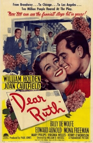Dear Ruth 1947 on DVD
