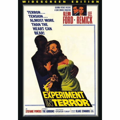 Experiment in Terror 1962 on DVD