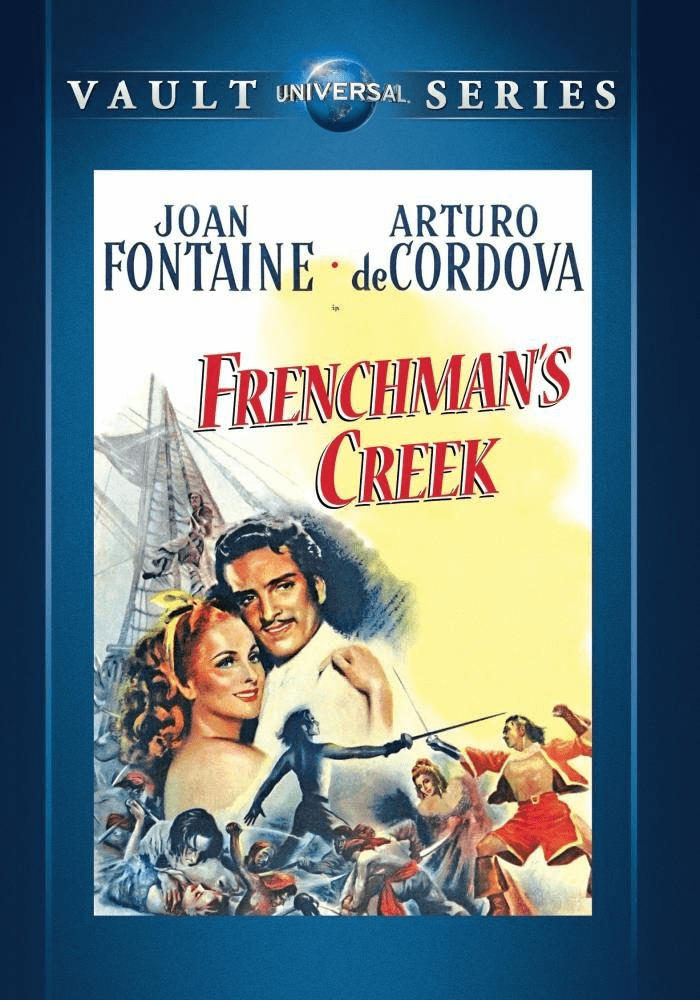 Frenchman's Creek 1944 on DVD