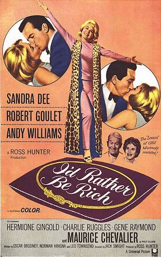 I'd Rather Be Rich 1964 on DVD