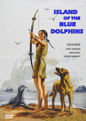 Island of the Blue Dolphins 1964 on DVD