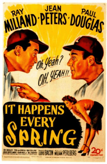 It Happens Every Spring 1949 on DVD