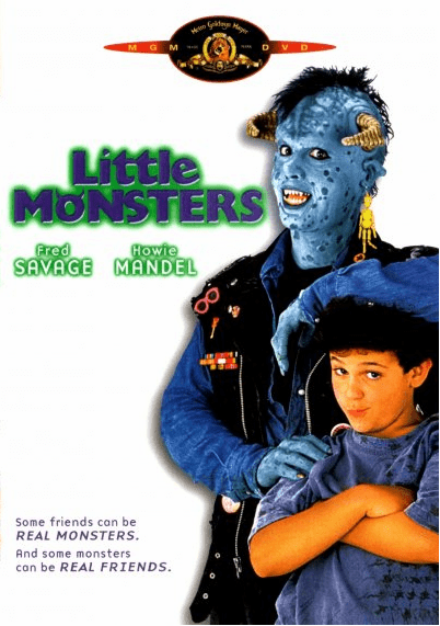 Little Monsters 1989 on DVD