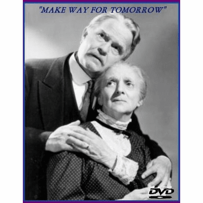 Make Way for Tomorrow 1937 on DVD