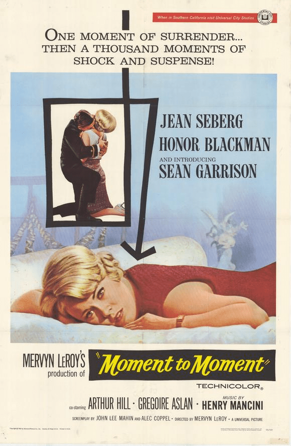 Moment to Moment 1965 on DVD