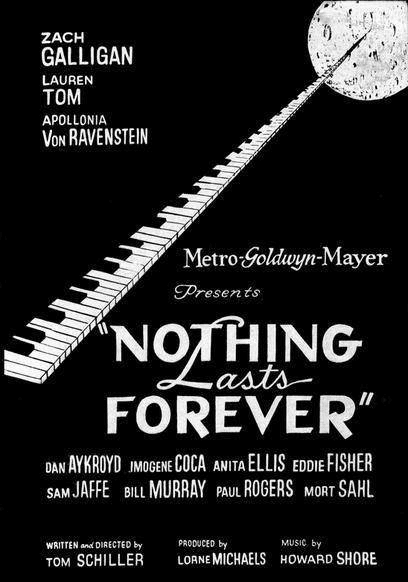 Nothing Lasts Forever 1984 on DVD