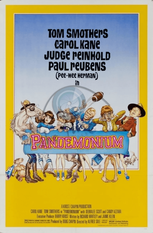 Pandemonium 1982 on DVD