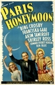Paris Honeymoon 1938 on DVD