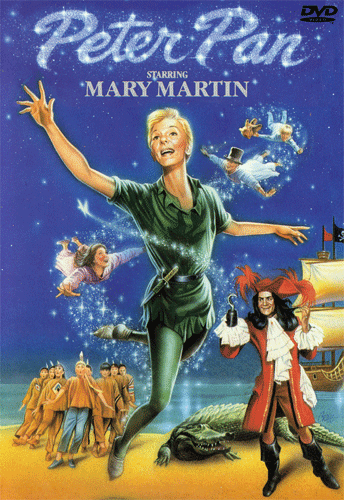 Peter Pan 1960 Mary Martin on DVD