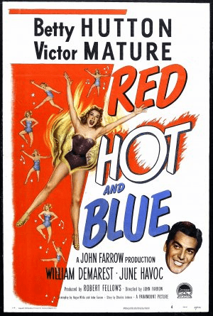 Red, Hot and Blue 1949 on DVD