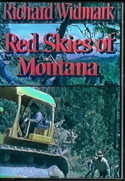 Red Skies of Montana 1952 on DVD