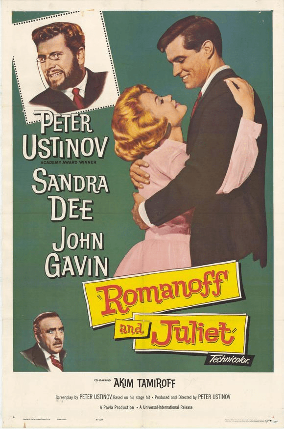 Romanoff and Juliet 1961 on DVD