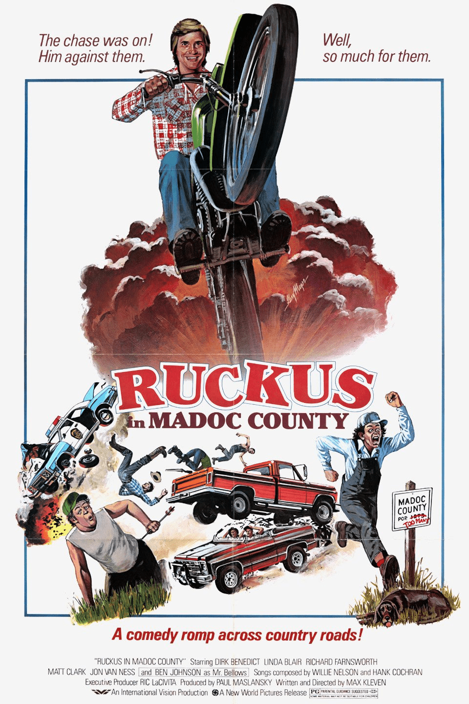 Ruckus 1980 on DVD