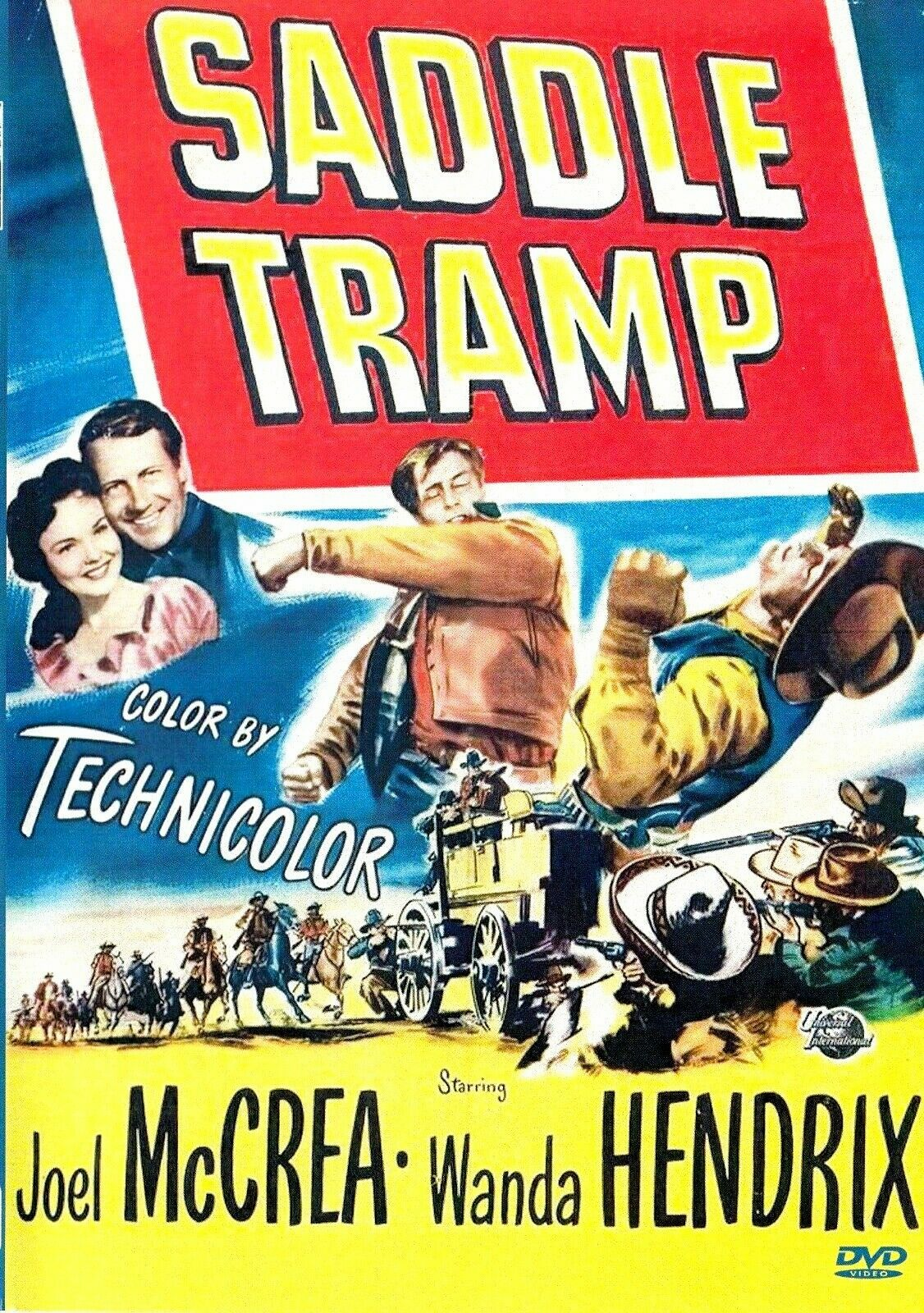 Saddle Tramp 1950 on DVD