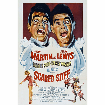 Scared Stiff 1953 on DVD