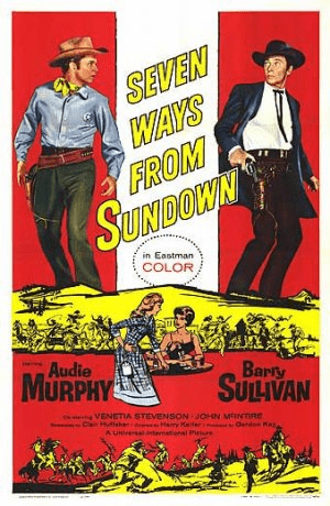 Seven Ways from Sundown 1960 on DVD