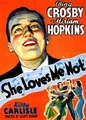 She Loves Me Not 1934 on DVD