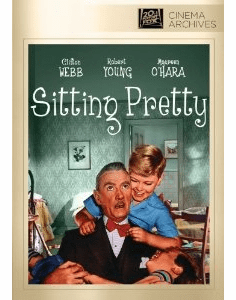Sitting Pretty 1948 on DVD