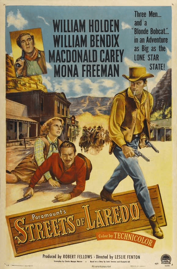 Streets of Laredo 1949 on DVD