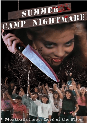 Summer Camp Nightmare 1987 on DVD