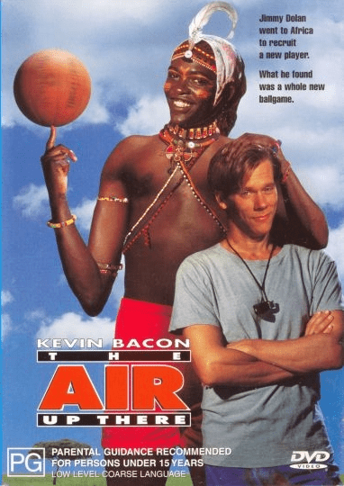 The Air Up There 1994 on DVD