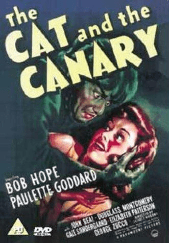 The Cat and the Canary 1939 on DVD