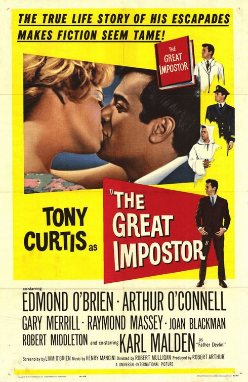 The Great Impostor 1961 on DVD