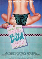 The Malibu Bikini Shop 1986 on DVD