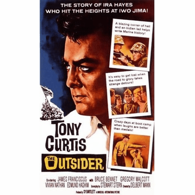 The Outsider 1961 on DVD